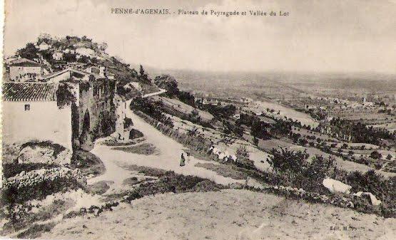 cpa_47_Penne-Agenais_0002r_Plateau-de-Peyragude