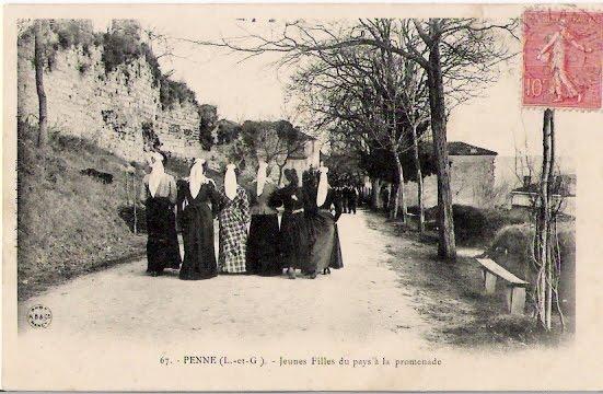 cpa_47_Penne-Agenais_0003r_Jeunes-Filles