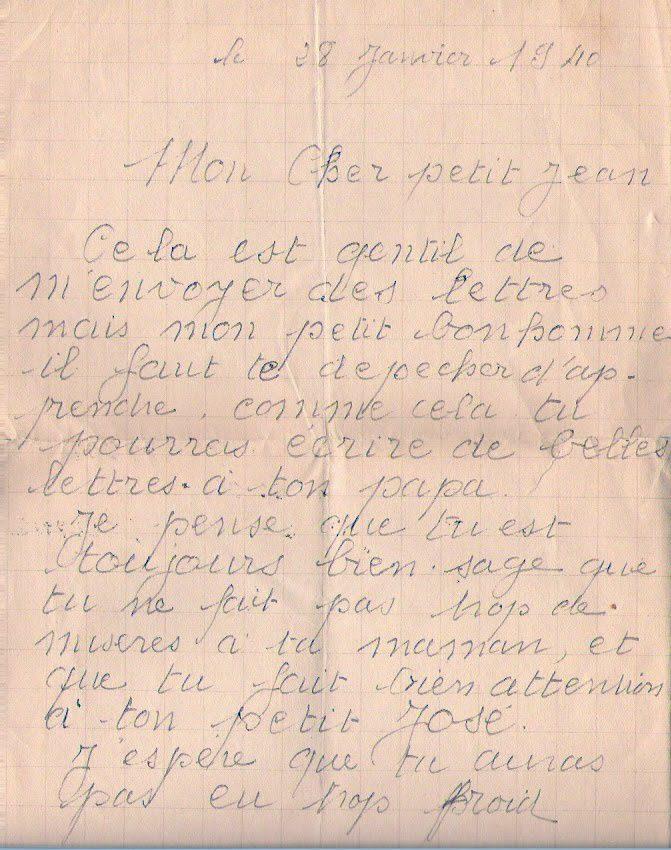 Lettre d'un père à son fils