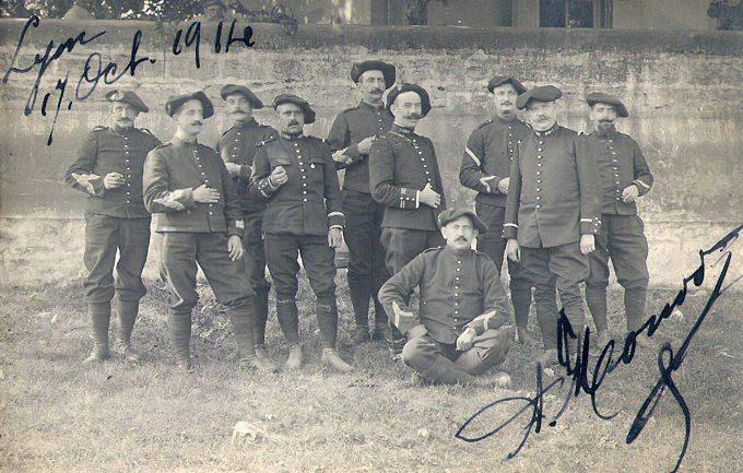 Geneatheme : En Novembre racontons la Première Guerre mondiale