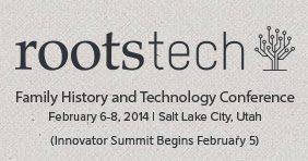 En route pour RootsTech 2014