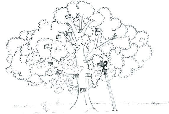 Portraits de généablogueurs : Dans les branches