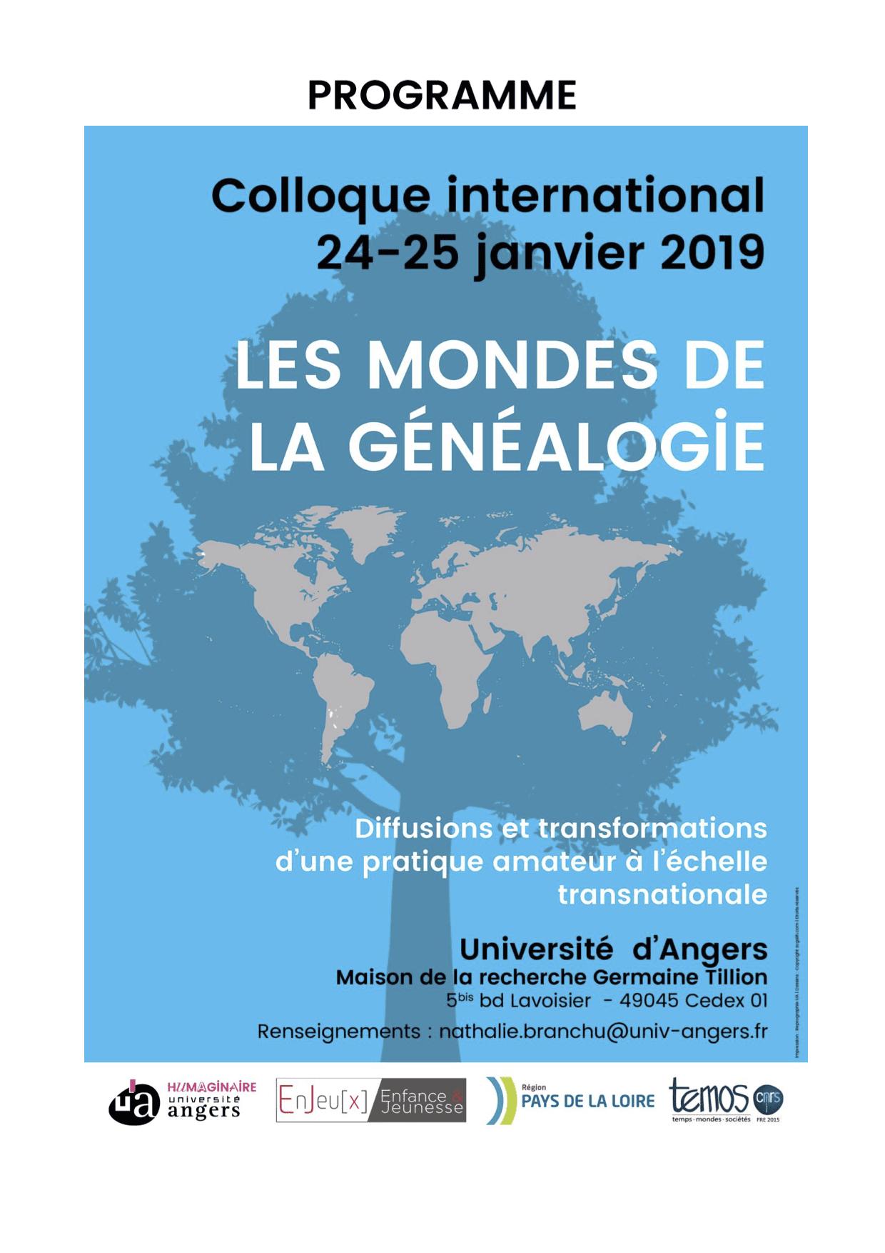 challengeAZ, Angers, généalogie