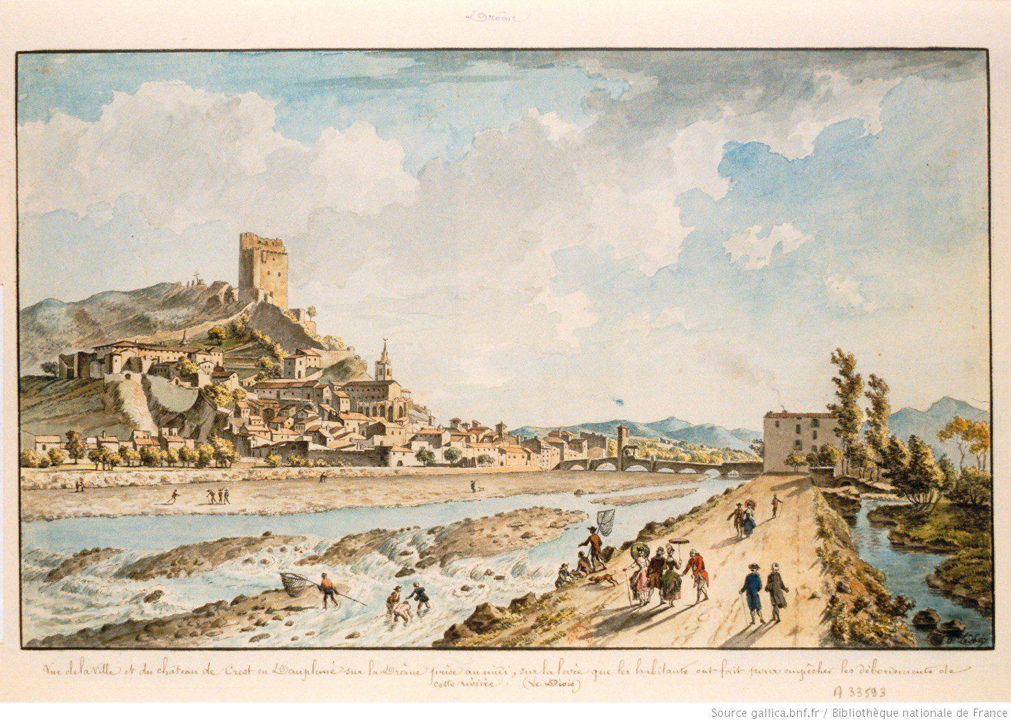 Tour de France, Drôme, archives, généalogie, Gallica
